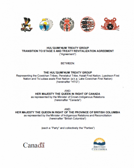 HTG Transition Agreement Cover Image